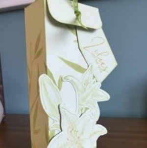 Elegant Lilies Gift Box with Kerry