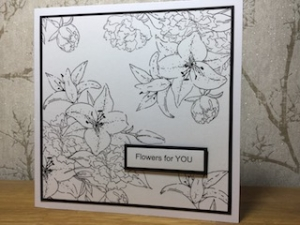 Big Bold Blooms Card with Liane