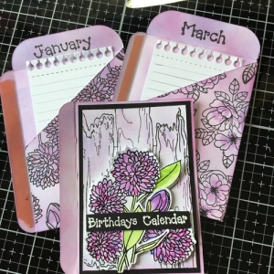 Seed Packet/Wallet Die Mini Book with Kerry