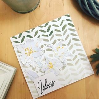 card, tutorial, elegant just like you. stamp, die,