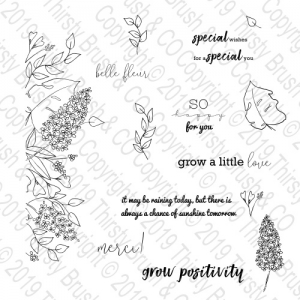 STAMP GROW A LITTLE LOVE