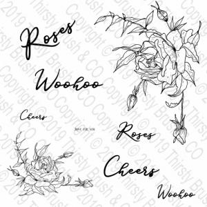 ROSE SWAG