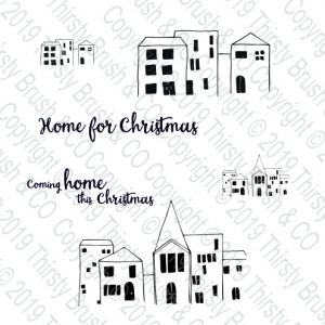 Stamp Home For Christmas
