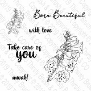 Stamp Born Beautiful
