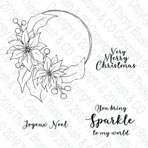 Sparkle To My World A5 Stamp Set