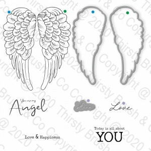 STAMP AND DIES YOU ARE MY ANGEL