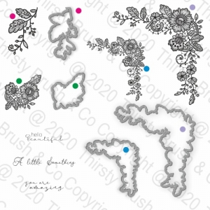 STAMP AND DIES APPLIQUE LACE