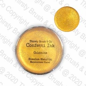 CONFETTI INK METALLIC GOLDMINE