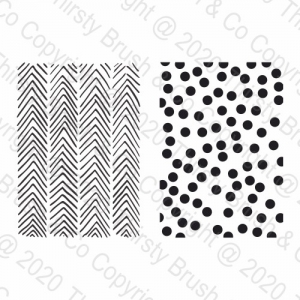 A5 STAMP SET MODERN PATTERNS
